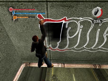 Игра которой нужно рисовать граффити